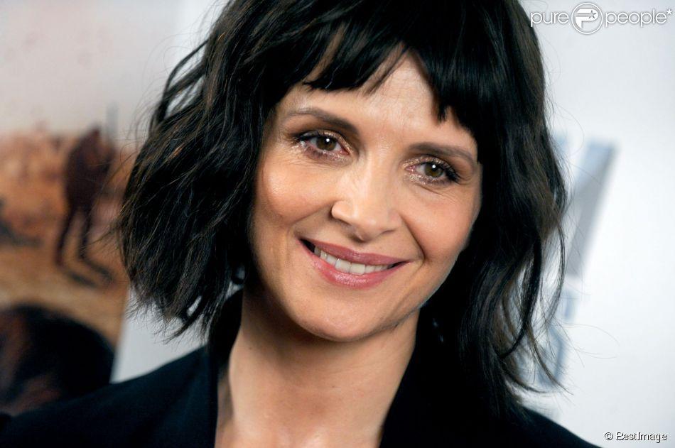 """Juliette Binoche lors de la première du film """"1000 fois Bonne nuit"""" à New York le 7 octobre 2014"""