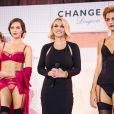 Britney Spears fête le lancement de sa marque de lingerie à Oslo. Le 26 septembre 2014.