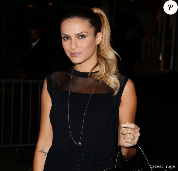 Exclusif - Clara Morgane, à la soirée des 30 ans de Canal + au Palais des Sports à Paris le 31 octobre 2014.