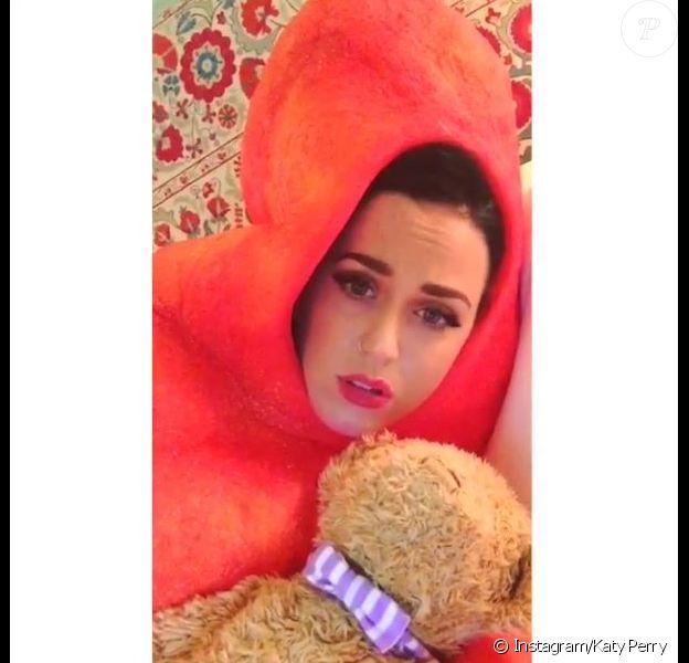 Kary Perry rend un drôle d'hommage à Celine Dion sur Instagram, le 6 novembre 2014