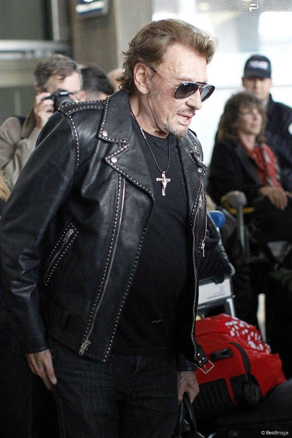 Johnny Hallyday à Paris, le 15 octobre 2014.