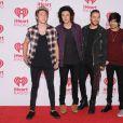 Le groupe One Direction à Las Vegas, le 20 septembre 2014.