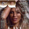 "Kim Kardashian en couverture du ""GQ"" anglais, septembre 2014."