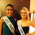 Léa Froidefond est Miss Limousin (en compétition pour le titre de Miss France 2015)