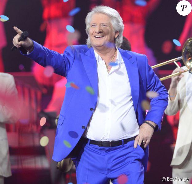 Exclusif - Patrick Sébastien à la soirée Ze Fiesta à l'Olympia, pour ses 40 ans de carrière, le vendredi 14 novembre 2014.