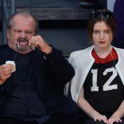 Jack Nicholson et sa fille Lorraine, fans abattus : Les Lakers ont encore perdu