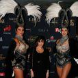Capucine Anav (Secret Story 6) - Photocall de la soirée Top Model Belgium 2014 au Lido à Paris, le 23 novembre 2014.