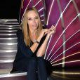 Exclusif - Tonya Kinzinger (robe Elie Saab) pose lors de la cérémonie Top Model Belgium 2014 au Lido à Paris, le 23 novembre 2014.