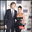 Gabriel Aubry et Halle Berry à New York, le 15 octobre 2009.