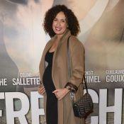 Amelle Chahbi, enceinte, non loin du couple Philippe Lellouche et Vanessa Demouy