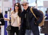 George Clooney et sa femme Amal, jean déchiré et énorme bague : Départ stylé !