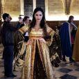 Leila Ben Khalifa en mode médiévale, le 22 novembre 2014.