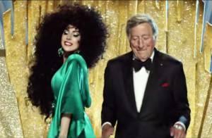 Lady Gaga : Stylée pour Noël avec Tony Bennett pour H&M