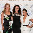 Aimee Mullins, Andie MacDowell et Eva Longoria assistent au dîner L'Oréal Paris Women of Worth au Pierre Hotel. New York, le 2 décembre 2014.