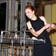 Julianne Moore assiste au dîner L'Oréal Paris Women of Worth au Pierre Hotel. New York, le 2 décembre 2014.