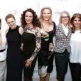 Eva Longoria, Julianne Moore, Andie MacDowell, Aimee Mullins, Diane Keaton et Karen T. Fondu assistent au dîner L'Oréal Paris Women of Worth au Pierre Hotel. New York, le 2 décembre 2014.
