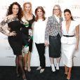 Andie MacDowell, Aimee Mullins, Karen T. Fondu, Diane Keaton et Eva Longoria assistent au dîner L'Oréal Paris Women of Worth au Pierre Hotel. New York, le 2 décembre 2014.