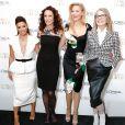 Eva Longoria, Andie MacDowell, Aimee Mullins et Diane Keaton assistent au dîner L'Oréal Paris Women of Worth au Pierre Hotel. New York, le 2 décembre 2014.