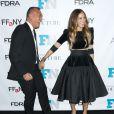 Joe Zee et Sarah Jessica Parker assistent aux Fashion Footwear Association Of New York Awards à l'IAC Building. New York, le 3 décembre 2014.