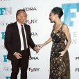 Joe Zee et Nicole Richie assistent aux Fashion Footwear Association Of New York Awards à l'IAC Building. New York, le 3 décembre 2014.