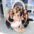 Samantha Brickman, Kate Hudson, Jesse Jo Stark, sa mère Laurie Lynn Stark, Bella Hadid et Hedy Gores assistent à la soirée d'inauguration du nouveau magasin Chrome Hearts, situé dans le Design District. Miami, le 3 décembre 2014.