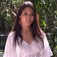 Valérie Coelho-Maciel (Miss Guyane) lors de la cérémonie de Miss France 2015 sur TF1, le samedi 6 décembre 2014.