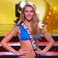 Miss Nord-Pas-de-Calais, finaliste, lors de la cérémonie de Miss France 2015 sur TF1, le samedi 6 décembre 2014.