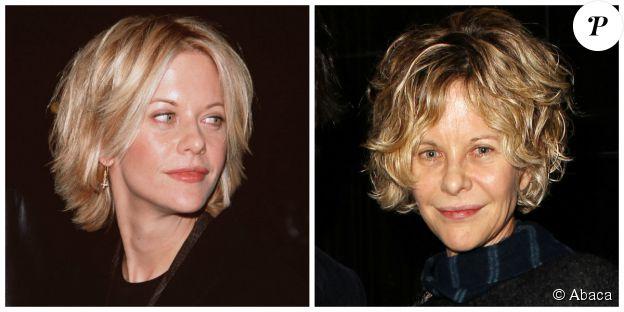 Meg Ryan en 2000 et en décembre 2014. ©Abaca Press