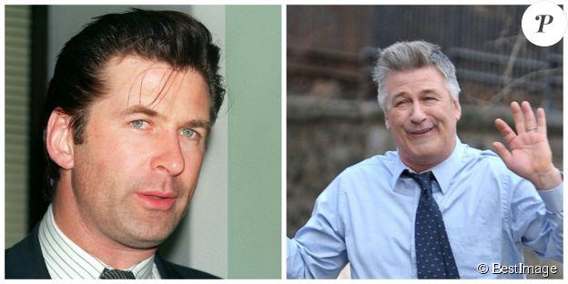 Alec Baldwin en 1994 et en 2014. ©BESTIMAGE