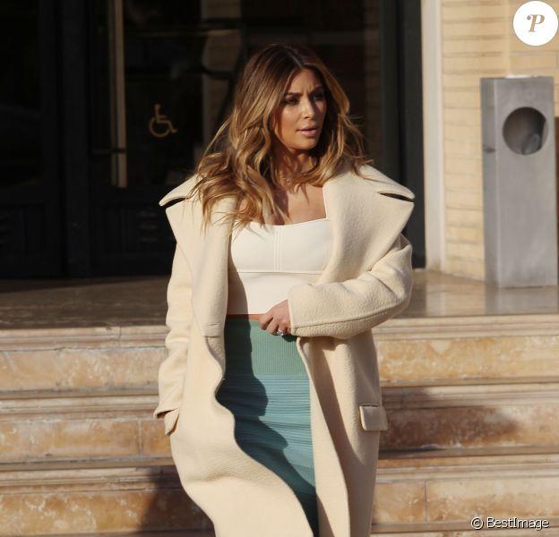 Kim Kardashian à Beverly Hills, le 6 janvier 2014.