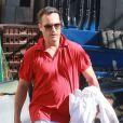 Exclusif - Joaquin Phoenix à la sortie de son cours de karaté à Los Angeles, le 2 novembre 2014.