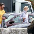Exclusif - Joaquin Phoenix et Allie Teilz prennent un cours de karaté ensemble à Los Angeles. Le 2 mars 2014