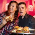 """Exclusif - Nicole Ferroni - Soirée de lancement de """"Deconne Cheese"""", une nouvelle chaîne d'humour lancée sur internet, au restaurant """"le Floors"""" à Paris, le 10 décembre 2014."""