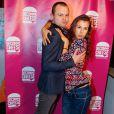 """Exclusif - Hugues Duquesne (du duo Lascars Gays), Nicole Ferroni - Soirée de lancement de """"Deconne Cheese"""", une nouvelle chaîne d'humour lancée sur internet, au restaurant """"le Floors"""" à Paris, le 10 décembre 2014."""