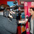 """Exclusif - Florent Peyre - Soirée de lancement de """"Deconne Cheese"""", une nouvelle chaîne d'humour lancée sur internet, au restaurant """"le Floors"""" à Paris, le 10 décembre 2014."""