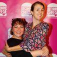 """Exclusif - Sandra Colombo (du duo Kicékafessa), Nicole Ferroni - Soirée de lancement de """"Deconne Cheese"""", une nouvelle chaîne d'humour lancée sur internet, au restaurant """"le Floors"""" à Paris, le 10 décembre 2014."""