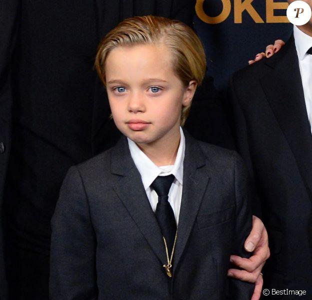 """Shiloh Jolie-Pitt à la première du film """"Unbroken"""" à Hollywood, le 15 décembre 2014."""