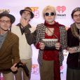 Le groupe 5 Seconds of Summer assiste au Jingle Ball de la station Hot 99.5 au Verizon Center. Washington, le 15 décembre 2014.