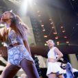 Ariana Grande preste lors du Jingle Ball de la station Hot 99.5 au Verizon Center. Washington, le 15 décembre 2014.