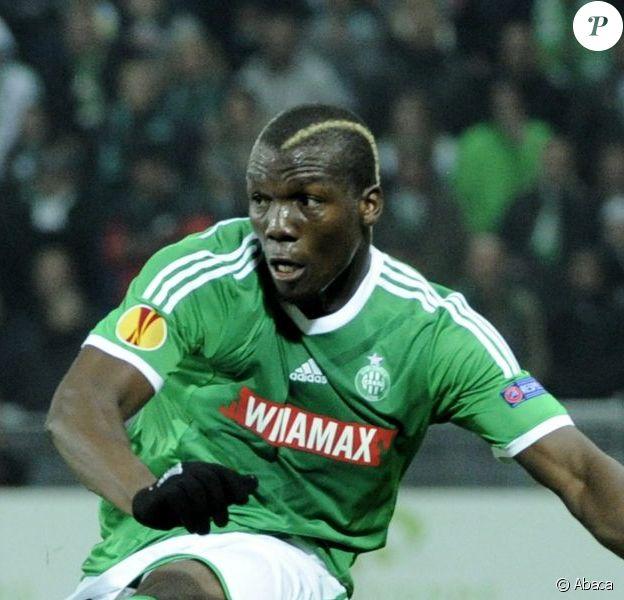 Florentin Pogba à Saint-Etienne le 6 novembre 2014.