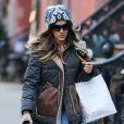 Sarah Jessica Parker fait du shopping pour Noël à New York, le 18 décembre 2014.
