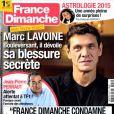 France Dimanche en kiosques le 2 janvier 2014