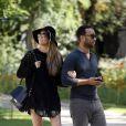 Exclusif - John Legend et Chrissy Teigen en visite à la Paris le 12 septembre 2014