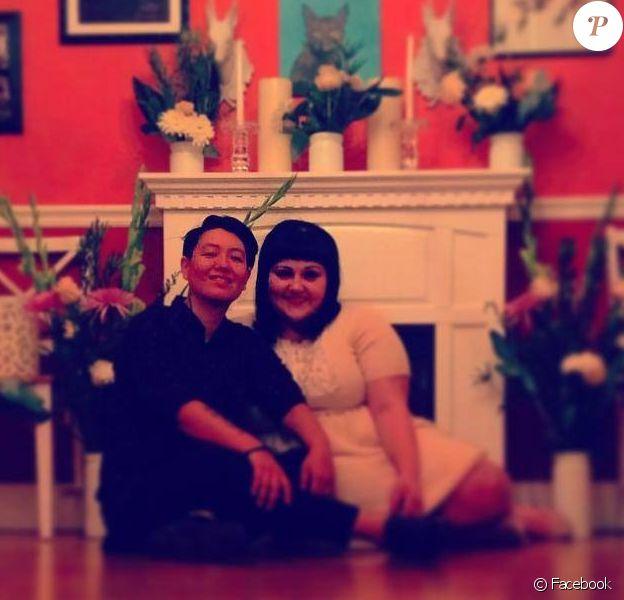Beth Ditto et sa femme Kristin, le 6 janvier 2015