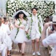 La chanteuse Beth Ditto a épousé sa fiancée Kristin Ogata en juin 2013 lors d'une cérémonie paradisiaque organisée à Hawaï et à laquelle a assisté le couturier français Jean-Paul Gaultier.