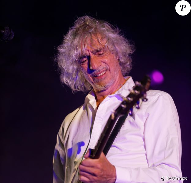 Concert de Louis Bertignac à Bandol. Le 23 juillet 2014.
