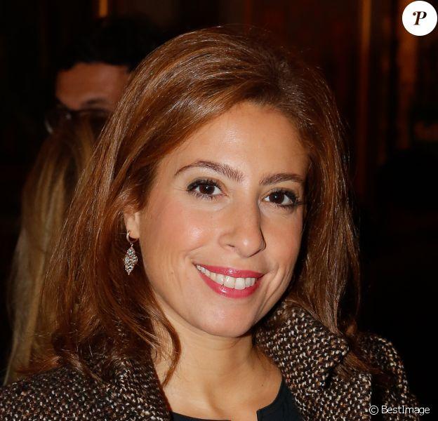 Exclusif - Léa Salamé - Soirée annuelle de la FIDH (Fédération Internationale des ligues de Droits de l'Homme) à l'Hôtel de Ville à Paris, le 8 décembre 2014.