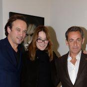 Carla Bruni-Sarkozy avec Nicolas et son ex Vincent Perez pour la beauté de l'art