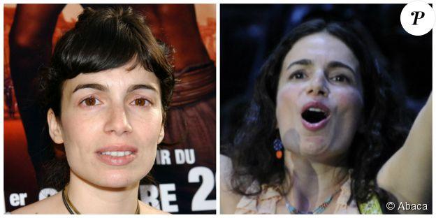 Yael Naïm en 2004 (à gauche) et en 2012 (à droite). ©Abaca