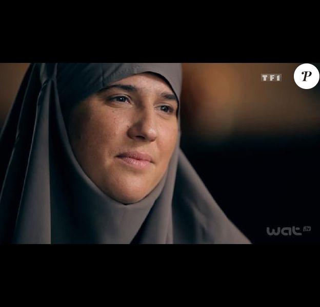 Diam's, en interview et voilée dans Sept à Huit sur TF1 le 30 septembre 2012
